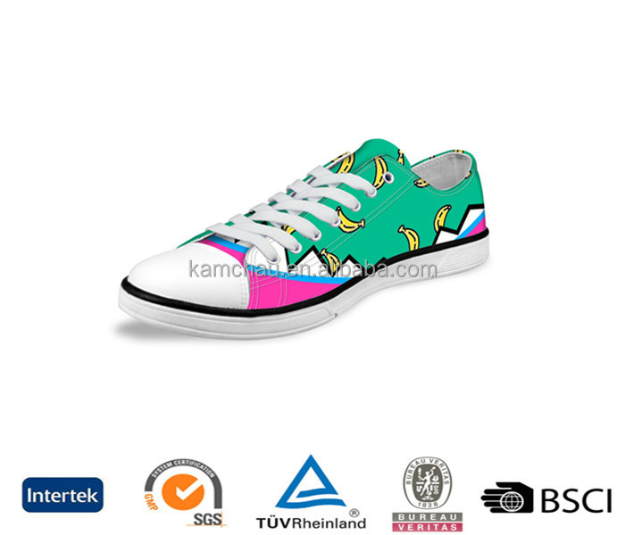 stylish sale online good price sample available oem printed low top lace up canvas upper women casual sneakers