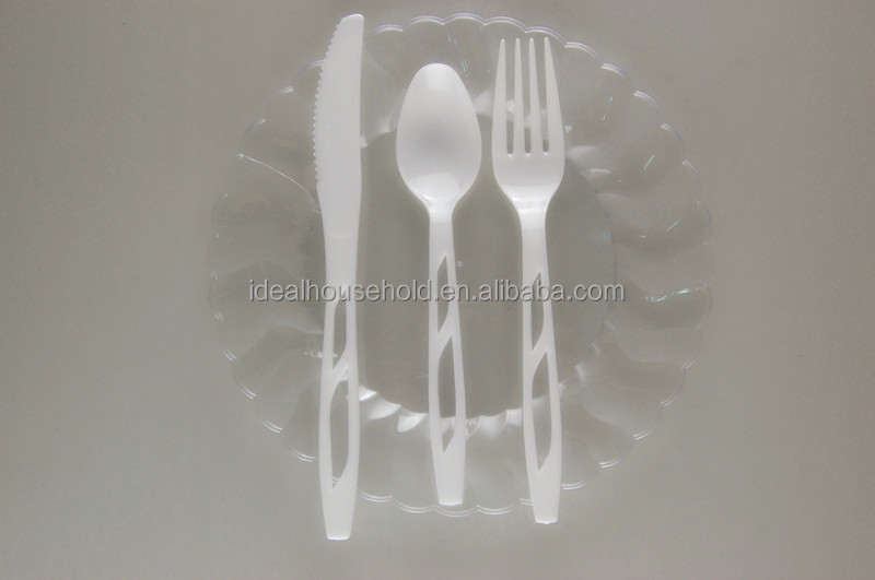 Disposable Cutlery Set,Plastic Knife Fork And Spoon