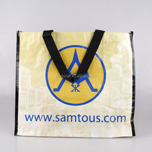 Laminated rice bag pp woven shopping bag matt/glossy laminated pp woven bag for shopping