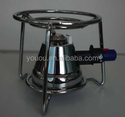 Portable Outdoor Gas Burner with Holder for BBQ