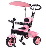 colorful 4 in 1 kids tricycle children tricycle with EVA wheels
