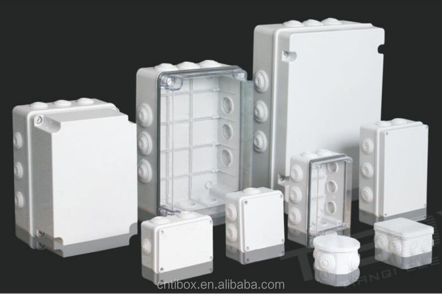 10% discount of polycarbonate protection level IP66 electronic enclosure PC plastic enclosure from TIBOX China