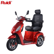 Electric tricycle front hydraulic disc brake 3 wheels mobility scooter