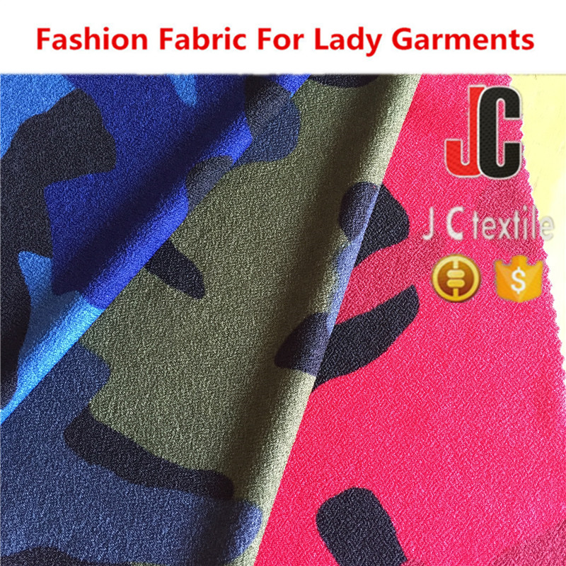 JC -A2190 new fashion jersey single pique printed knit fabric for garments