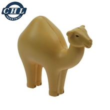 Promotional anti PU stress camel