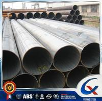 Trade assurance Q345 LSAW Straight Welded Steel Pipe building materials online shipping