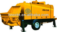 high quality,diesel engine,s-valve type hauled concrete pump HBT80.16.12RS