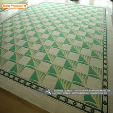 Green Bamboo Flooring Fiber Carpet