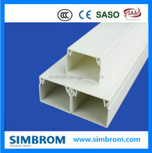 Decorative industrical /wire pvc trunking electrical plastic cable square trunking