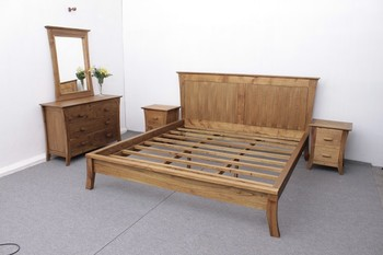 Bedroom Set Wooden Indoor | Camurri Bed Set
