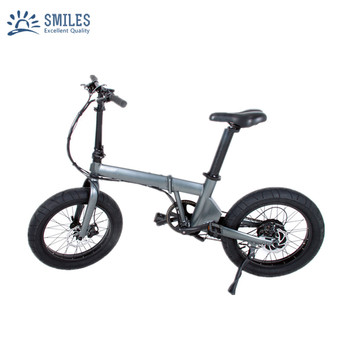 LCD Display 20 inch Flat Tire Electric Bike/Foldable E Bicycle For Adults