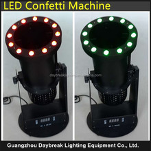 stage effect confetti led machine DMX512 control AC110/220V