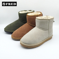 Winter OEM Real Sheepskin Boots Wholesale