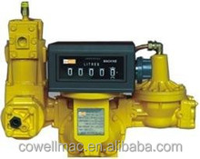 LPG gas flow meters 2inch 3inch with strainer air eliminator