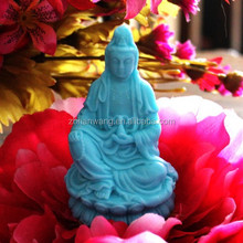 Buddha silicone mold for soap DIY 3D candle hand made clay craft mouid