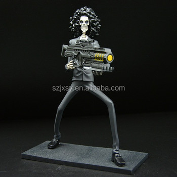 black suit and afro figure one piece resin crafts