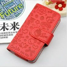 belt clip leather case for iphone 4