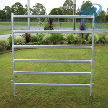 lowest price metal post corral horse portable livestock farm fencing panel pens