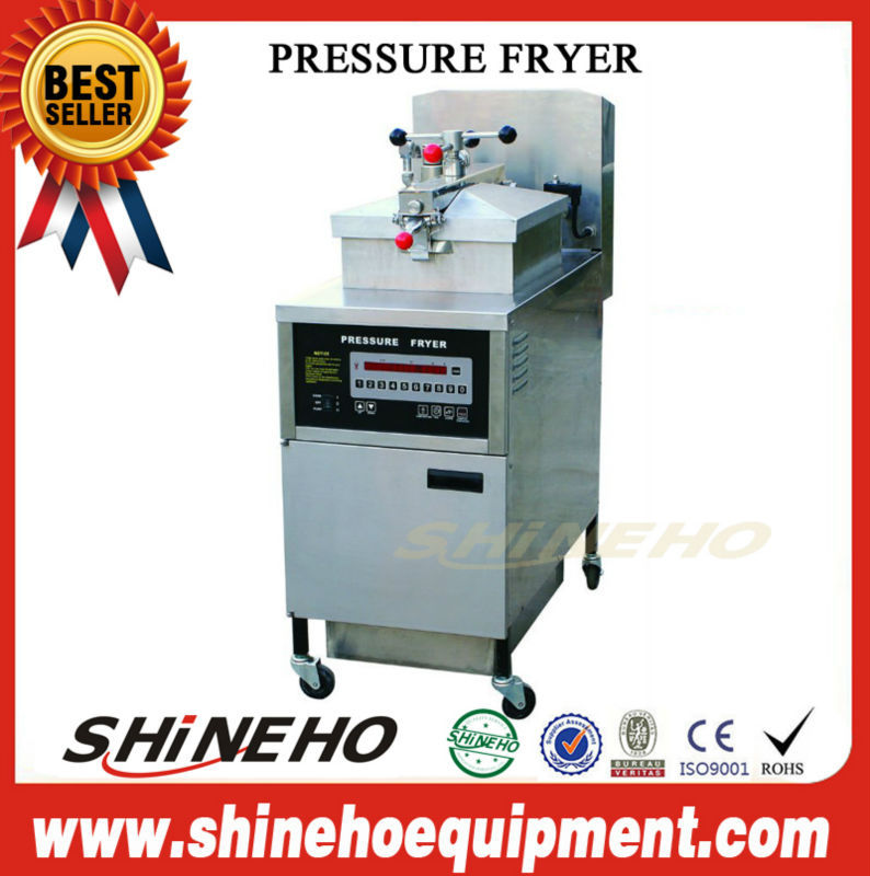 P008 a fryer pressure used/automatic frying machine/broaster chicken fryer