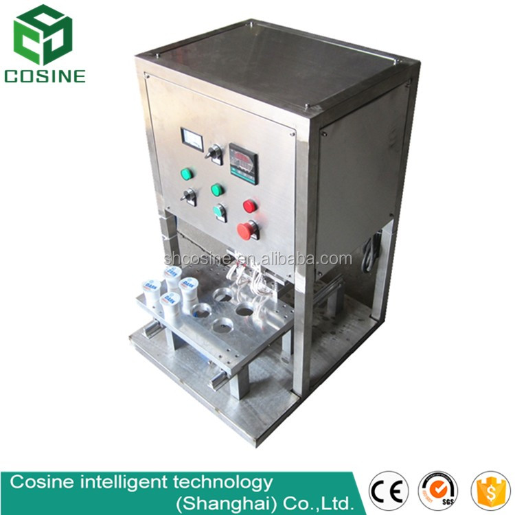 Rotary type cone cup ice cream filling sealing machine for liquid paste