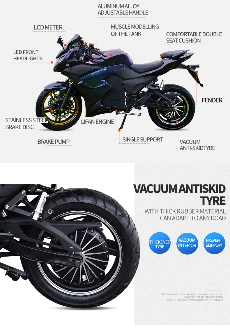 Ergonômico motocicleta da bicicleta da sujeira da motocicleta