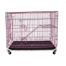 Cheap Indoor Large Cat Metal Cage House Crate For Cats MHC002