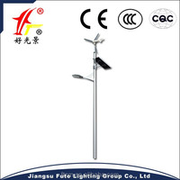 Wind Solar Energy Integrated Street Lighting