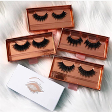 100% real siberian mink lashes private label false eyelash