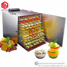 Hot sale fresh fruit dehydrator/fruit vacuum dehydrator/food freeze dryer with 12 trays