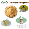 2016 hot sale favorable ginseng price 4% ginsenosides ginseng extract, high quality Pesticide-free korean red ginseng extract