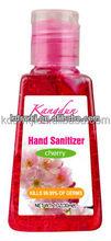mini cherry blossom fast aseptic Hand sanitizer 30 ml
