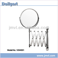 Magnify chromed plated cosmetic bathroom wall mounted mirror