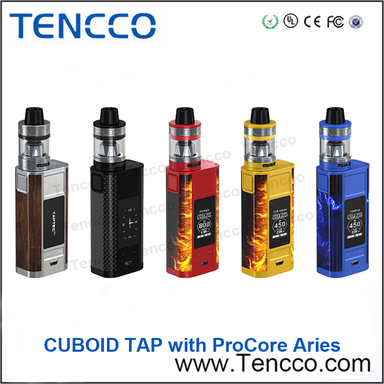 First Batch 100% Original Joyetech Cuboid TAP With ProCore Aries Kit with 228w Output in Stock