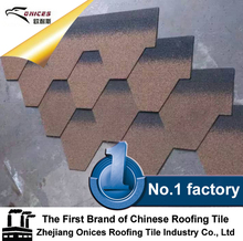 Fiberglass Asphalt Shingle, High Corrosion Resistance Gavalume Panel Stone Coated Roofing Tiles