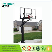 "Wholesale adjustable in ground basketball stand with 72"" board"
