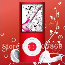 slim 4th Gen 8gb 9 Colors mp3/mp4 fm radio video player