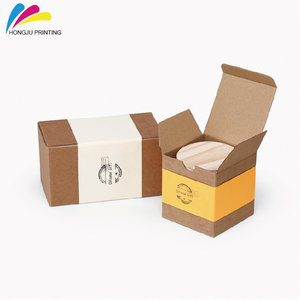 high quality colorful carton kraft recycle cardboard ice cream packaging box