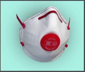 Comfort Cup style Respirator