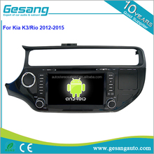 hot sell HD touch screen Auto DVD player for K3 / Rio 2012-2015 with Quad Core Rockchip 3188 1080P 16g ROM WiFi 3G