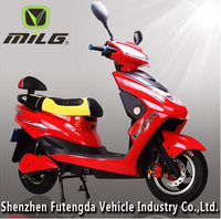 China 800W fashioned two seat electric bike/daster speed electric motorcycle
