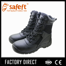 8 inch waterproof anti-puncture pu sole S3 safety shoes/hunting boots