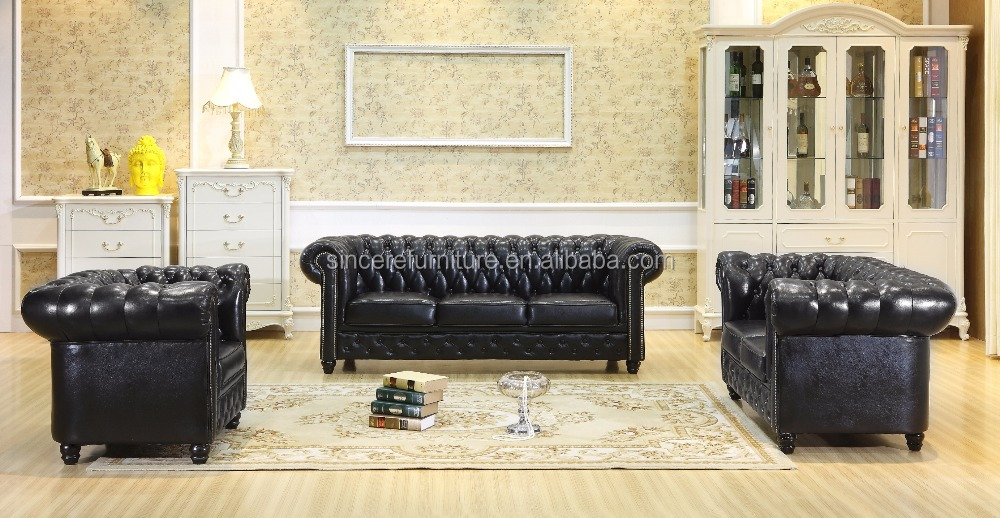 buy latest design leather sofa set for living room