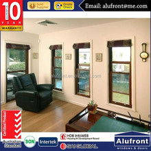 America Standard Vertical Opening Sliding Window, Aluminum Single Hung Window