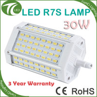 High power 30W led r7s replacing halogen lamp j118 500w