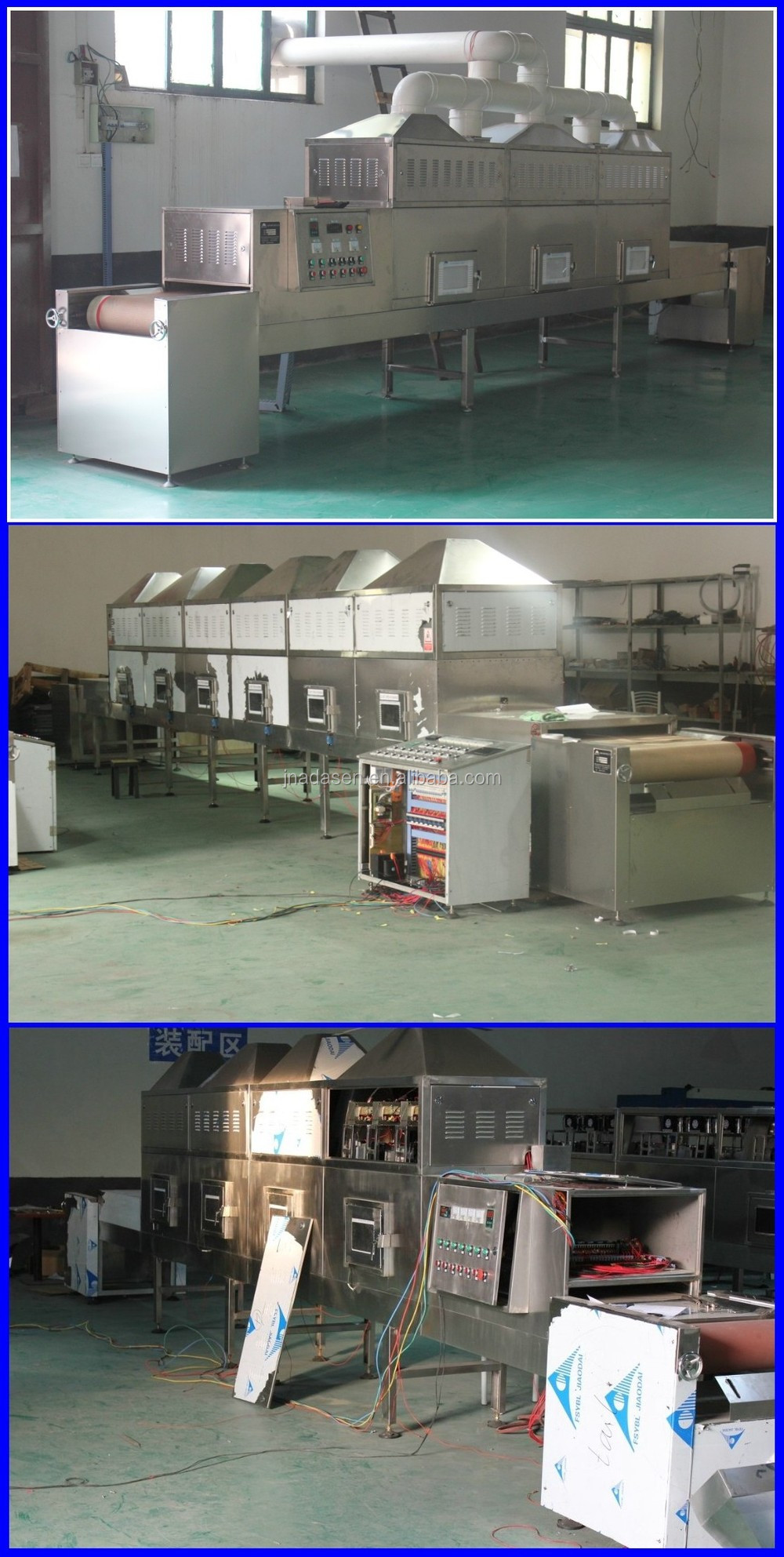 100kg~300kg per hour industrial tea leaf/leaf dryer/mint leaf drying machine