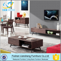 The Global Popular Chinese Wooden Tea Table Living Room Furniture Design for New Home