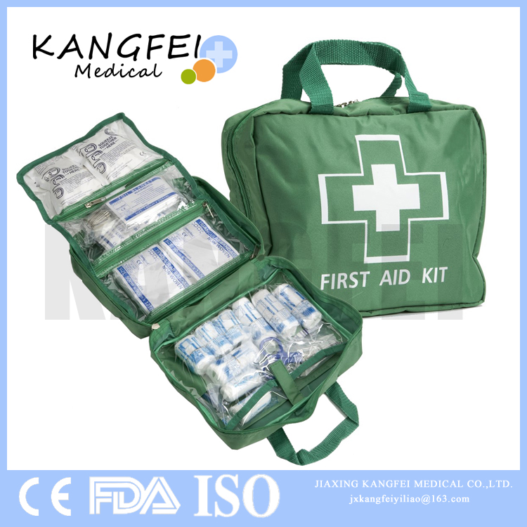 2017 FREE LOGO KF67 Unique Emergency Medical Supply Items 300 Piece First Aid Kit Bag For Home, Office, Outdoors, Car, Camping
