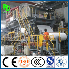Scrap Waste Paper Recycling Paper Machine Toilet Tissue Paper Equipment