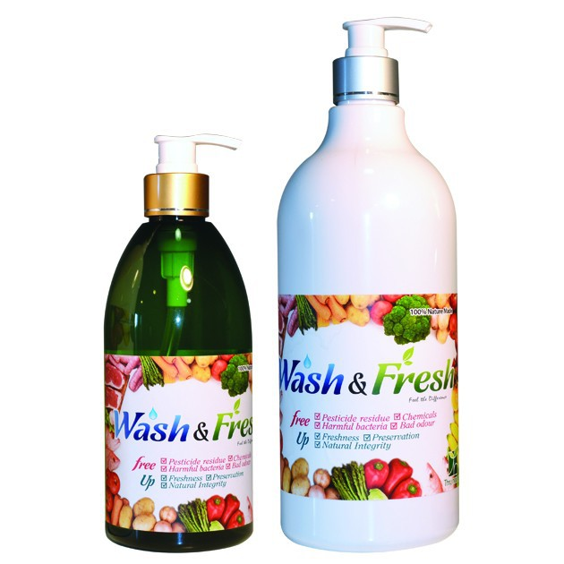 Wash & Fresh (100% Nature Made) Beyond Organic Foods / Food Safety / Unique Health Product / Unique & Innovative Benefits