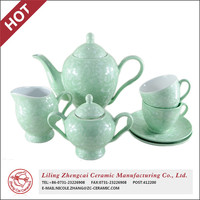 New Arrival Traditional crystalline glaze ceramic teapot